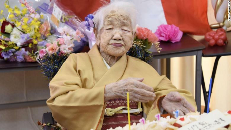 A record one person in every 1,500 in Japan is aged at least 100 -- and they're probably a woman