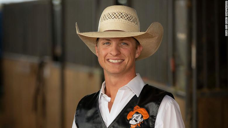 An Oklahoma State University bull rider died from injuries sustained during competition