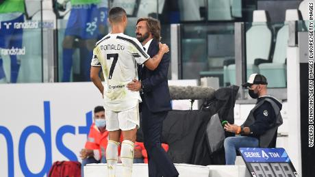 Cristiano Ronaldo helped Andrea Pirlo get off to a winning start as manager.