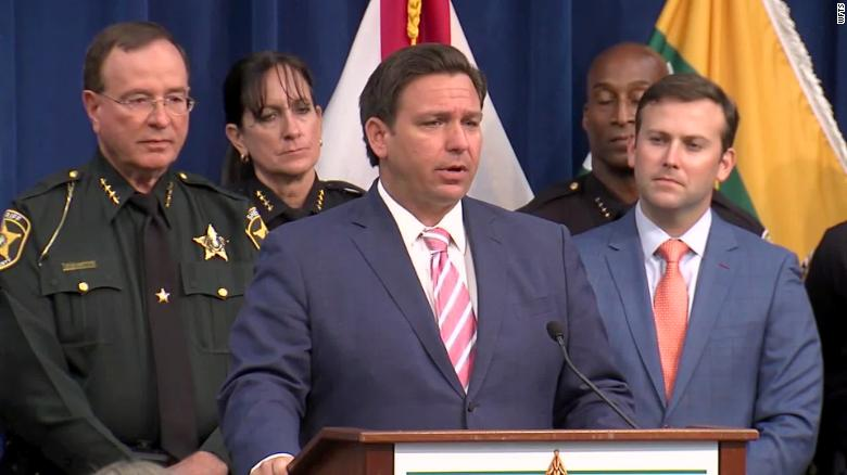 Florida Gov. Ron DeSantis calls for legislation aimed at cracking down on disorderly protests