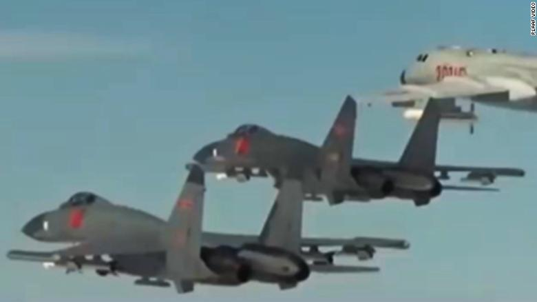 Chinese air force propaganda video appears to use Hollywood movie clips