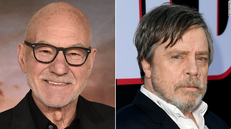 Patrick Stewart and Mark Hamill go head-to-head in food delivery commercial