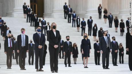 Ruth Bader Ginsburg's army of clerks to stand guard at the Supreme Court