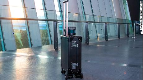 A robot suitcase could replace canes and guide dogs for blind people