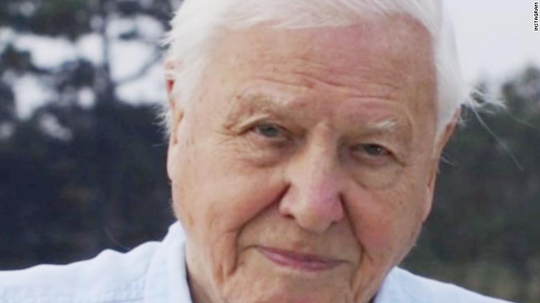 British prince receives fossilized shark tooth from naturalist David Attenborough