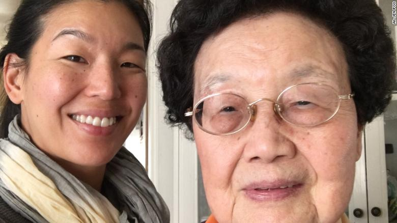 My grandma taught me how to cook, play mahjong and say goodbye