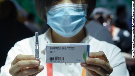 China says it got WHO support for coronavirus vaccine emergency use