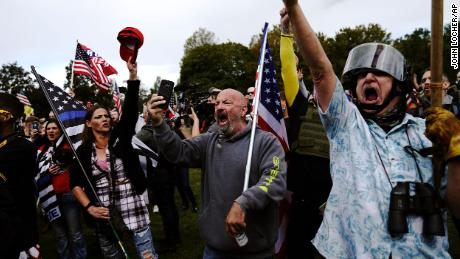OR governor 'incredibly worried' about violence at Proud Boys rally