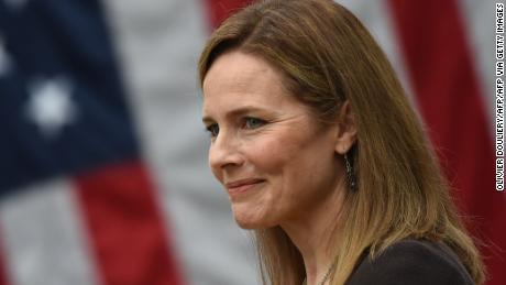 Conservatives with high expectations anxious for Justice Amy Coney Barrett to show her hand
