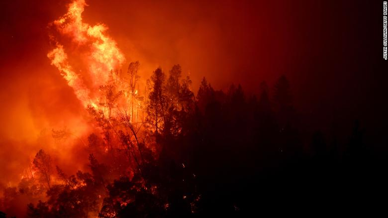 Evacuations underway as 'Glass Fire' burns through Calif.'s Napa Valley