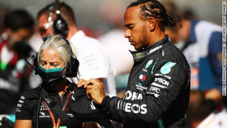 Lewis Hamilton was handed time penalties at the Russian GP.
