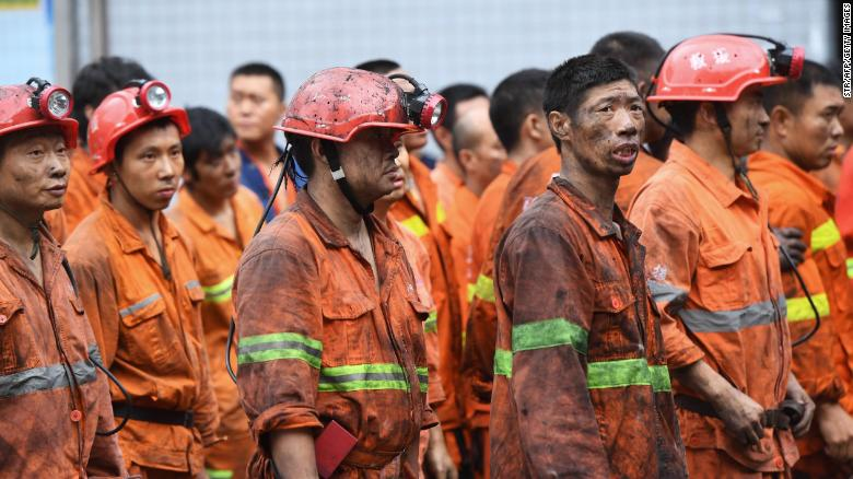 Por lo menos 16 killed from carbon monoxide poisoning in China coal mine accident
