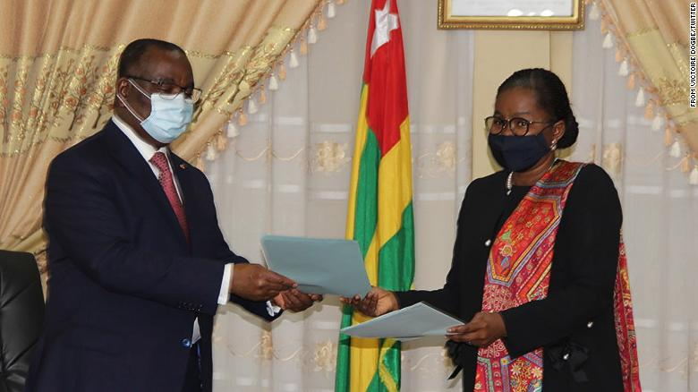 Togo names first female Prime Minister