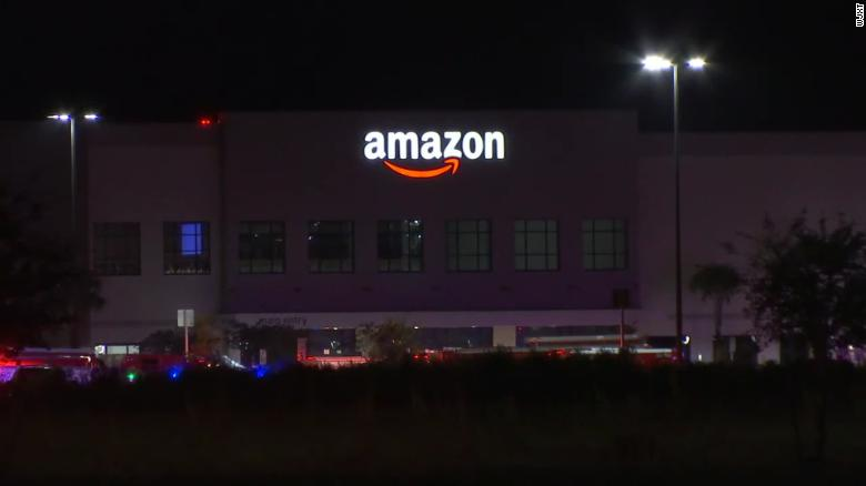 Shooting at Amazon facility in Jacksonville leaves at least one dead