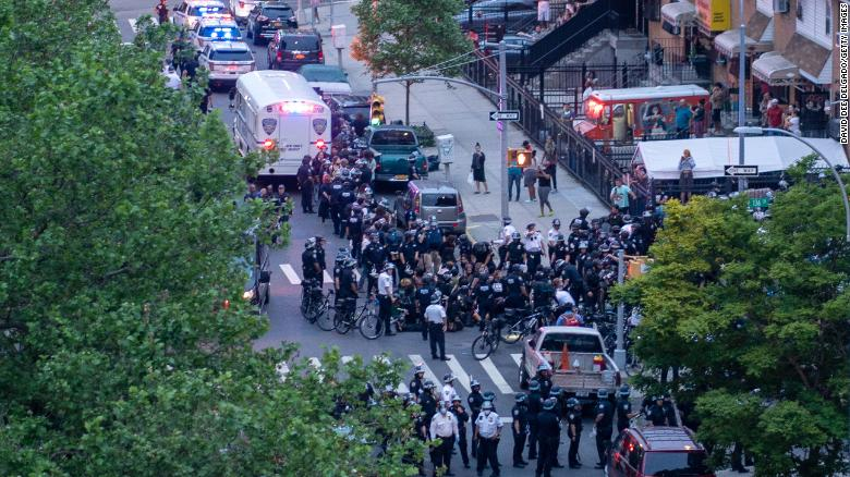 New York attorney general sues NYPD over 'brutal' handling of George Floyd protesters