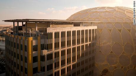 Al Wasl Dome ซึ่งเป็นหลังคาเหนือศูนย์กลางของงานเอ็กซ์โปจะมีขึ้นหลังจากงานสิ้นสุดในปี 2565