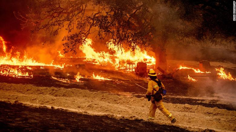 California wildfires have burned more than 4 million acres this year