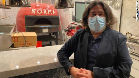 Salvatore Fraterrigo is making final preparations to open his 70-seat trattoria Norma in New York City, which was originally set to launch in April.