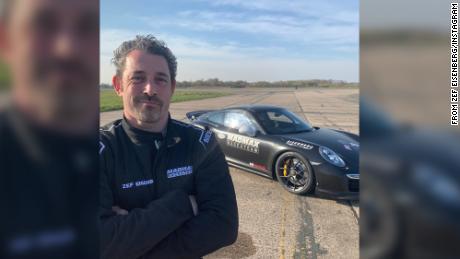 Businessman died attempting Porsche speed record at airfield