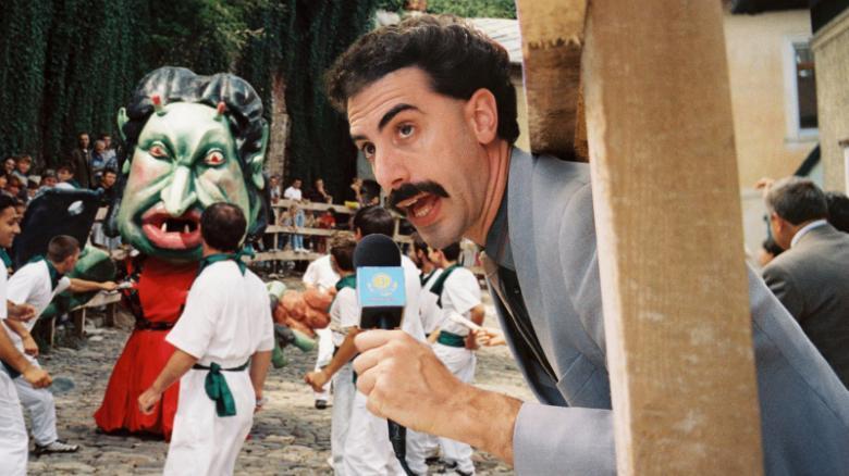 Rudy Giuliani's Hand in His Pants in New 'Borat' Scene