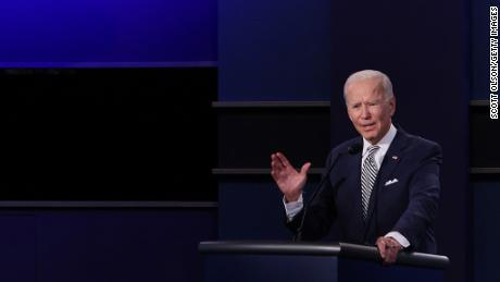 How a crease in Biden's shirt spawned a debate conspiracy theory