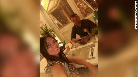 Michele D & # 39; Alpaos และ Paola Agnelli