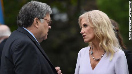 Kellyanne Conway announces she tested positive for coronavirus