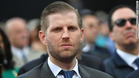 Eric Trump sat for deposition as part of investigation by New York attorney general