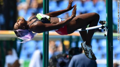 Olympic high jumper pressured to 'perform better' and lose a few pounds