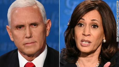 Mr. Vice President, she's speaking: How Kamala Harris beat the stereotypes during her historic VP debate