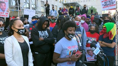 Alvin Cole's mother and sisters arrested after more protests over teen's killing by police, attorney says