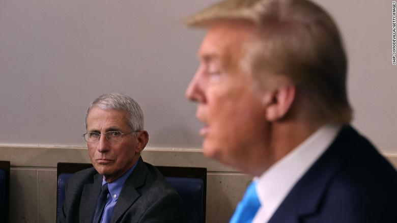 Fauci says he is 'absolutely not' surprised Trump got Covid-19