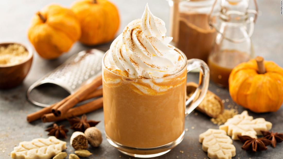 """Make your own <a href=""""https://www.mybakingaddiction.com/pumpkin-pie-spice-recipe/"""" target=""""_blank"""">pumpkin spice blend</a> with cinnamon, ginger, nutmeg, allspice and cloves, and enjoy with home-brewed coffee."""