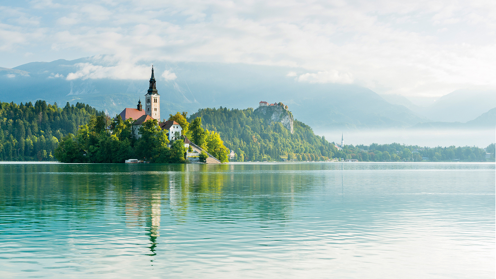 The stunning Lake Bled is number six on Lonely Planet's list.