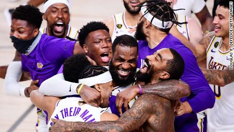 James united a Lakers team in one goal: securing the NBA title to honor franchise legend Kobe Bryant, who died alongside his 13-year old daughter Gianna in a helicopter crash in January earlier this year.