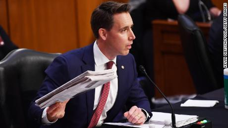 Why Josh Hawley's move could endanger Senate Republicans