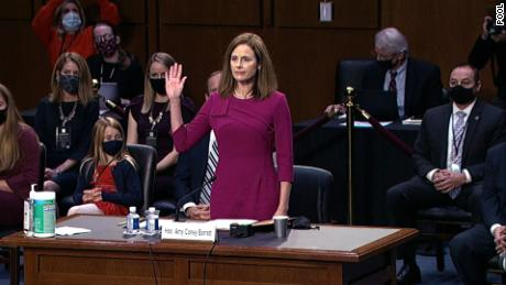 See Amy Coney Barrett's entire opening statement