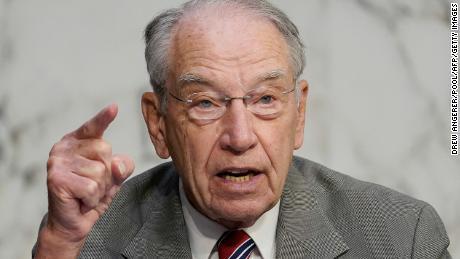 Senior Republican senators say Biden should have access to classified briefings