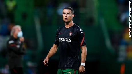 Soccer superstar Cristiano Ronaldo flies to Italy after testing positive for coronavirus
