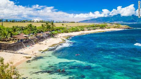 Ho'okipa Beach Park in Maui Hawaii
