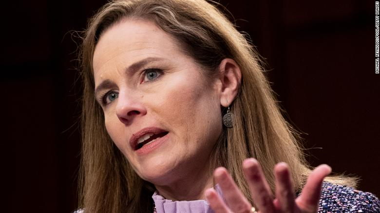 Amy Coney Barrett is winning even as Trump is losing