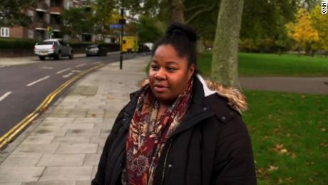 London resident Monica Richardson told CNN she was concerned about the older generation being isolated under the new rules.