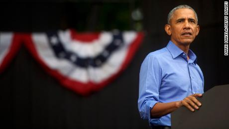Barack Obama slams Trump in Biden campaign speech