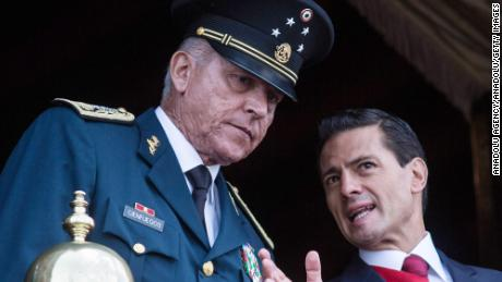 Mexico's former defense minister arrested on federal drug charges in Los Angeles