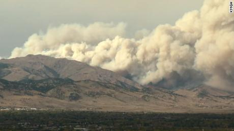 Colorado residents asked to make evacuation plans as the CalWood Fire breaks out