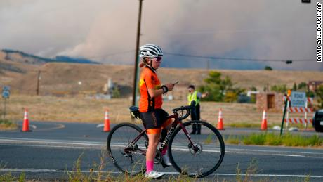 Record-Breaking Wildfire Rages in Colorado