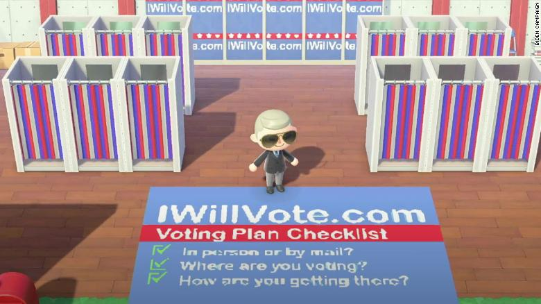 Joe Biden has his own island on 'Animal Crossing' where you can learn about his campaign