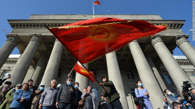 Kyrgyzstan's acting president may seek constitution change to run for full term