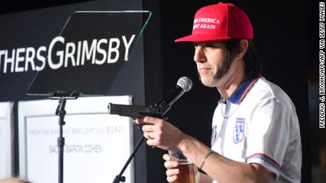 Sacha Baron Cohen explains how he crashed Pence speech dressed as Trump