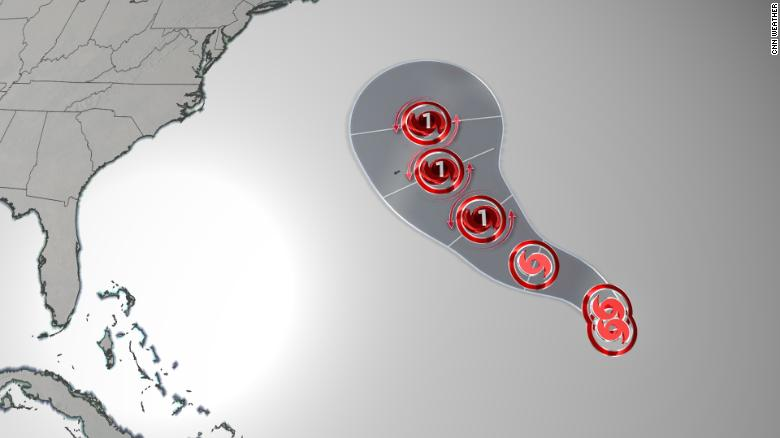Tropical Storm Epsilon forms, isn't a threat to Florida